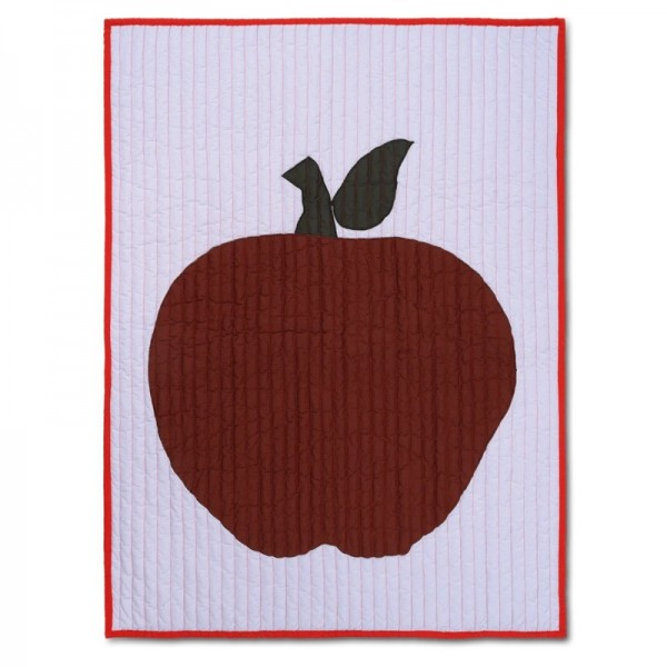 Ferm Living Apple Quilted Blanket