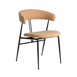 Gubi Violin Dining Chair, Fully Upholstered