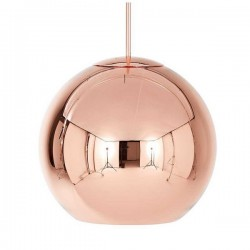 Tom Dixon Copper Round Pendant 45cm