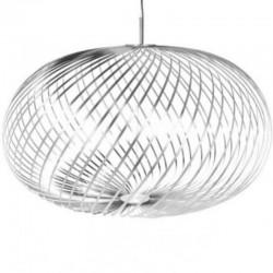 Tom Dixon Spring Pendant Lamp Stainless Steel Large