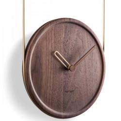 Nomon Colgante Walnut Clock