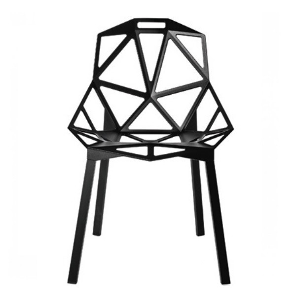 Magis Chair One Black (Seat and Legs Painted) Sale