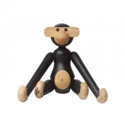 Kay Bojesen Small Mini Dark Stained Oak Monkey