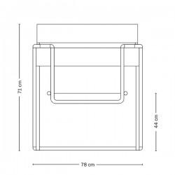 Tecta D4 Bauhaus Folding Chair