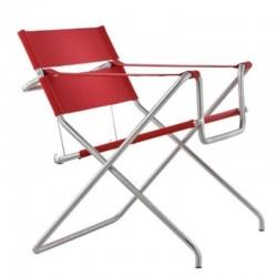 Tecta D4 Bauhaus Folding Chair Cavalry Fabric