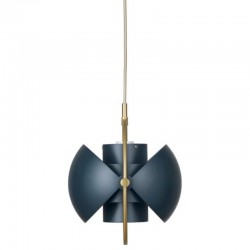 Gubi Multi-lite Midnight Blue Pendant Lamp