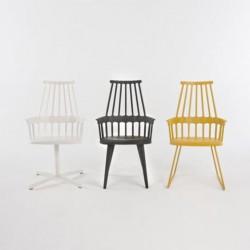 Kartell Comback Chair Wooden Legs