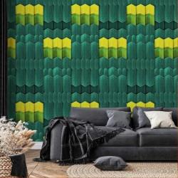 NLXL SUZ-06 Yellow Edge Wallpaper