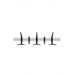 Kartell Hanger Coat Rack Collection Matt Black