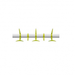 Kartell Hanger Coat Rack Collection Cider yellow