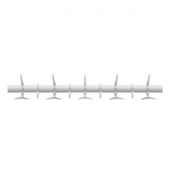 Kartell Hanger Coat Rack Collection Clear