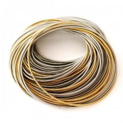 La Molla Tiziana Bracelet Gold and Steel