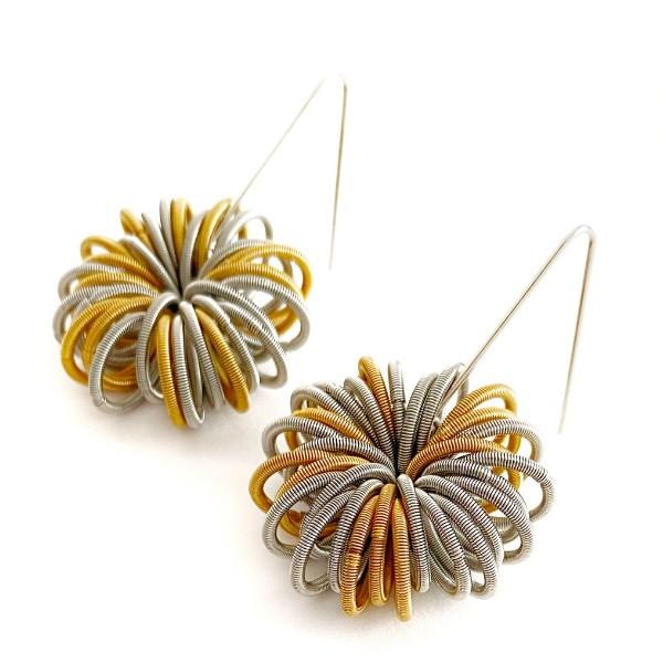 La Molla Earrings No 1 Gold