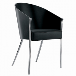 Driade King Costes Chair Ebonized Mahogany