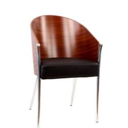 Driade King Costes Chair Mahogany