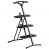 Kartell Ladder Tiramisu Metalic Grey