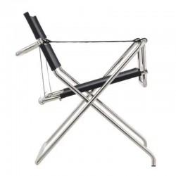 Tecta D4 Bauhaus Folding Chair Leather 1