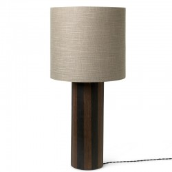 Ferm Living Post  Floor Lamp with Eclipse Shade
