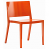 Kartell Lizz Chair Orange