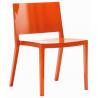 Kartell Lizz Chair Orange