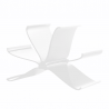 Kartell Magazine Rack Front Page Glossy White