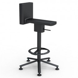 Magis 360 degree Stool Matt black