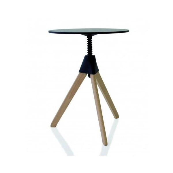 Magis Topsy The Wild Bunch Table Frame in natural beech top black