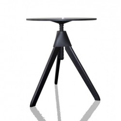 Magis Topsy The Wild Bunch Table beech painted black top black