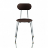 Magis Mariolina Chair Grey anthracite, chrome frame