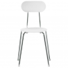 Magis Mariolina Chair White, chrome frame