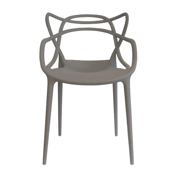 Kartell Masters Chair Light grey (07)