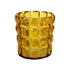 Kartell Matelasse Vase Amber