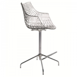 Driade Meridiana Stool Transparent