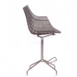 Driade Meridiana Stool Transparent smokey grey