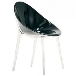 Kartell Mr Impossible Chair Solid glossy black